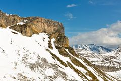 Alta strada alpina di Grossglockner in Austria Fotografia Stock Libera da Diritti
