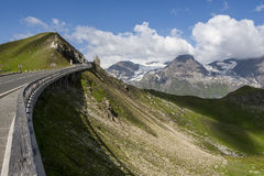 Alta strada alpina di Grossglockner - Austria Immagini Stock
