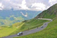 Alta strada alpina di Grossglockner, Austria Fotografia Stock Libera da Diritti