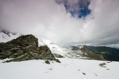 Alta strada alpina di Grossglockner, Austria Fotografie Stock Libere da Diritti