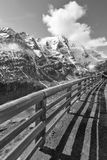 Alta strada alpina di Grossglockner in Austria Rebecca 36 Immagini Stock