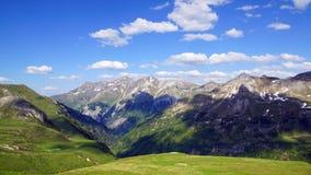 Alta strada alpina di Grossglockner. L'Austria Immagini Stock Libere da Diritti