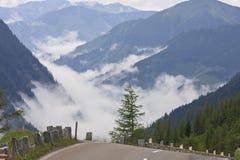 Alta strada alpina di Grossglockner nel Tirolo, Austria Fotografia Stock Libera da Diritti