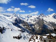 Alta strada alpina di Grossglockner, parco nazionale Hohe Tauern, Austria Fotografie Stock