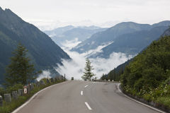 Alta strada alpina di Grossglockner, Tirolo, Austria Immagine Stock Libera da Diritti