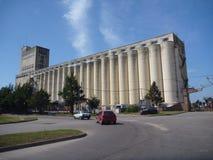 Alta struttura bianca del silo Immagine Stock Libera da Diritti