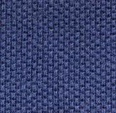 Alta struttura del knit del tessuto della camicia di polo di ingrandimento Immagini Stock