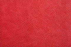 Alta struttura di rezolution di cuoio dipinto rosso Immagine Stock