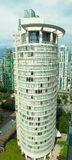 Alta subida Buliding de Vancouver imagen de archivo