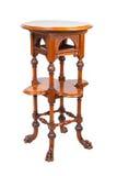 Alta tabella di legno dell'annata Fotografia Stock
