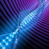 Alta tecnología de la DNA Fotografía de archivo libre de regalías