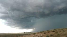 Alta tempesta di deserto Fotografie Stock Libere da Diritti