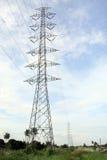 Alta tensão tower-3 Fotos de Stock