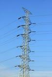 Alta tensão tower-5 Fotos de Stock