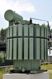 Alta tensione del reattore Fotografia Stock
