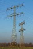 Alta tensione della torre Immagini Stock Libere da Diritti