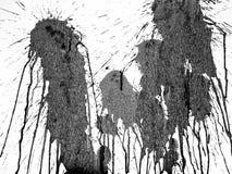 Alta textura de la pintura del chapoteo con la sensaci?n dram?tica libre illustration