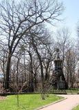 Alta tomba del parco di Toronto di John e di Jemima Howard 2007 Fotografie Stock