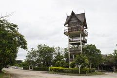 Alta torre asiatica Immagini Stock Libere da Diritti