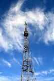 Alta torre de la televisión Fotografía de archivo