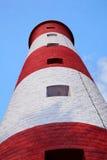 Alta torre del faro Fotografie Stock Libere da Diritti