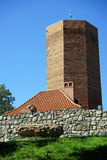 Alta torre del mattone Fotografie Stock