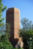 Alta torre del mattone Fotografie Stock Libere da Diritti