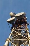 Alta torre di comunicazione Immagine Stock