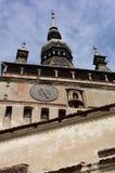 Alta torre di Sighisoara Fotografia Stock Libera da Diritti