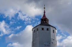 alta torre di un castello Fotografia Stock Libera da Diritti