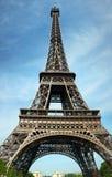 Alta Torre Eiffel di a Parigi Immagine Stock