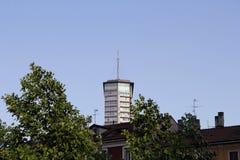 Alta torre a Milano Fotografia Stock Libera da Diritti