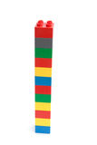 Alta torretta dei blocchi Fotografie Stock