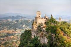 Alta torretta del San Marino Fotografia Stock