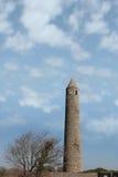 Alta torretta rotonda Immagini Stock Libere da Diritti