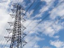 Alta trasmissione elettrica Immagine Stock Libera da Diritti
