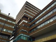 Alta universidad de Newcastle del alojamiento del estudiante de la subida Fotos de archivo libres de regalías