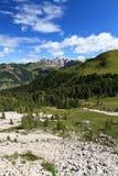 Alta valle di Gardena - comp. verticali Immagine Stock Libera da Diritti