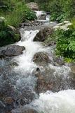 Alta valle di Gveleti, montagne di Caucaso, Georgia Immagini Stock Libere da Diritti