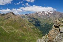 Alta valle di Pejo Fotografia Stock Libera da Diritti