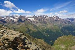 Alta valle di Pejo Fotografia Stock