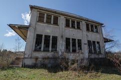 Alta vecchia costruzione della fabbrica Immagine Stock