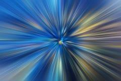 Alta velocidade movente do negócio do efeito do futurista azul ilustração stock