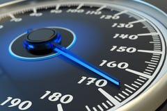 Alta velocità, accelerazione di estremo e concetto dell'azionamento Fotografie Stock
