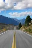 Alta velocità con steppe pittoresche Immagine Stock
