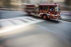 Alta velocità del camion dei vigili del fuoco di Boston Fotografia Stock Libera da Diritti