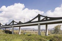 Alta velocità del ponte ferroviario Immagini Stock