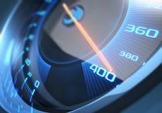 Alta velocità del tachimetro Fotografia Stock