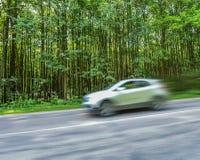 Alta velocità di viaggio delle automobili Fotografia Stock