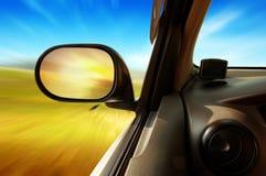 Alta velocità nell'automobile Immagini Stock